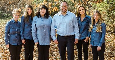 Feature image of Dr. Sal and his caring team in Pittston, PA