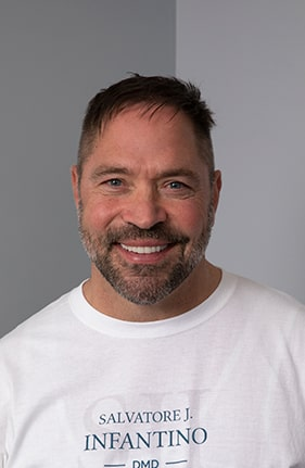Headshot of our lead dentist in Pittston PA, Dr. Infantino